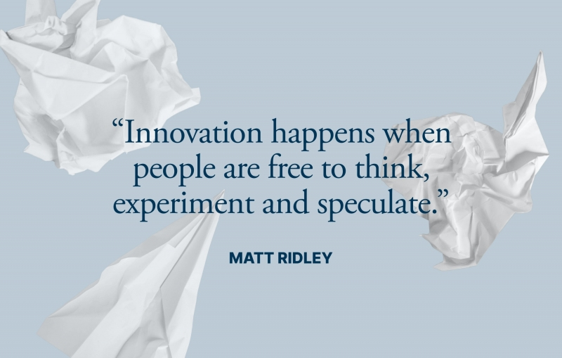 Quote from Matt Ridley